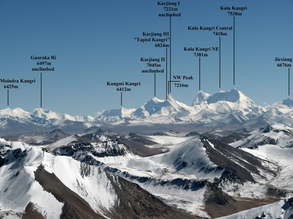 Karjiang, Tibet, Pic from Summit Post 2